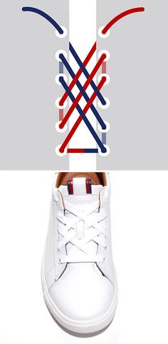 Cc tout le mondes voici comment mettre ces lacets plutot stylé… Cc all worlds here is how to put these shoelaces stylish rather … Diy Fashion, Fashion Shoes, Womens Fashion, Fashion Tips, Fashion Hacks, London Fashion, Sneakers Fashion, Mode Outfits, Mode Inspiration