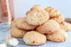 Kokoskoekjes (kokosmakronen) - Zoetrecepten