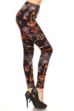 1f7d2159 Print Leggings Key Mistress (R858-PLUS) - CF186UKXNKY,Women's Clothing,  Leggings
