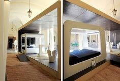 Bedroom Designs with High Technology