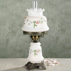 Lilith Hurricane Table Lamp
