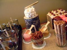 Party Theme - Hot Chocolate Bar