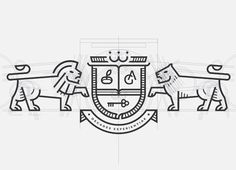 #heraldica #logoconstruction
