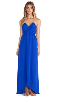 Assali Livia Dress in Cobalt