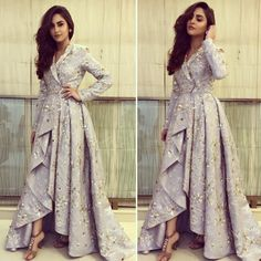 Fashion dresses - Most Stylish Papa Don't Preach Outfit Ideas for Sassy Brides & Bridesmaids – Fashion dresses Designer Party Wear Dresses, Kurti Designs Party Wear, Indian Designer Outfits, Indian Outfits Modern, Mode Abaya, Mode Hijab, Stylish Dresses, Fashion Dresses, Dress Outfits