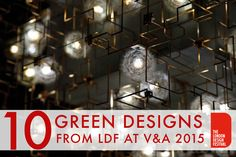 10 Stunning green designs from the V&A at London Design Week 2015 http://inhabitat.com/10-stunning-green-designs-from-the-va-at-london-design-week-2015/