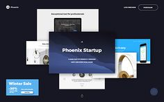 Phoenix Startup UI Kit — the best time and money saving tool for busy web agencies. Fully responsive, Phoenix Startup contains 340 responsive