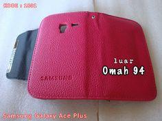 Kode Barang 1801 Jual Wallet Book Leather Samsung Galaxy Ace Plus S7500 Merah Hati (Pink) | Toko Online Rame - rameweb