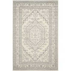 Safavieh Adirondack Ivory/ Silver Rug (6' x 9') - Overstock™ Shopping - Great Deals on Safavieh 5x8 - 6x9 Rugs