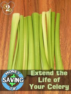 How to make celery last for 3-4 months. Genius!