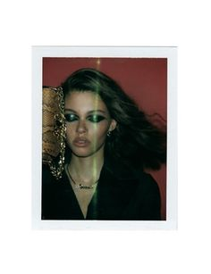 """Your Gaze Hits the Side of My Face""  Danielle Lashley photographed by Carlijn Jacobs for Wonderland Magazine Summer 2017  Stylist: Ursula Geisselmann  Hair: Maarit Niemela  Makeup: Daniel Kolaric #inspiration #blog #blogger #tumblr #fashion #style #models #photography #vogue http://www.midnight-charm.com/"