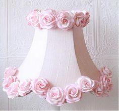 Pink Dupioni Silk U0026 Roses Table Lamp Pink Dupioni Silk U0026 Roses Table Lamp,