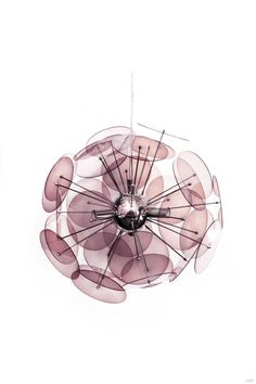 Amari Pendant Lamp in Purple  70.00GBP  Matching table and floor lamps also available