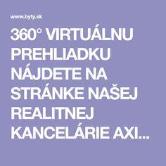 360° VIRTUÁLNU PREHLIADKU NÁJDETE NA STRÁNKE NAŠEJ REALITNEJ KANCELÁRIE AXISREAL.SK POPIS BYTU: Realitná kancelária AXIS REAL ponúka na dlhodobý pre Bratislava, Nassau, Jacuzzi, Calm