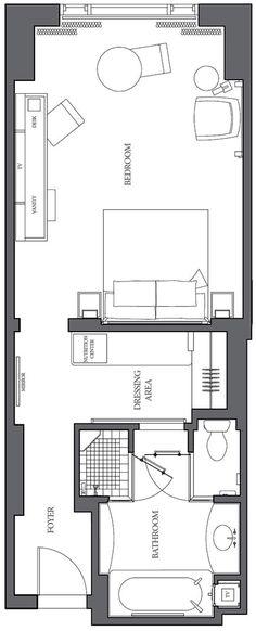 The Peninsula Chicago Superior Room 531 - 542 sq ft