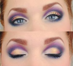 Nude and purple