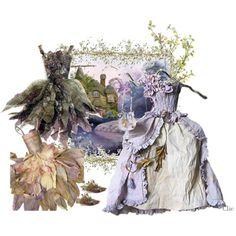 hydrangea dress fairy party inspirations