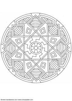mandalas | Dibujo para colorear Mandalas 22
