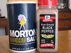 The Mistake: separate a mixture of salt and pepper while playing along with this fun story