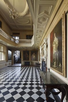 The Great Hall at Ham House. ©National Trust Images/John Hammond