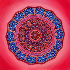 I am the proud owner of this one. Giclee on Canvas. She Opens  Mandala  archival print on photo by MandalaVisions, $12.00