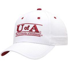 85dc5e694d154 Alabama Crimson Tide The Game U of A Classic Bar Adjustable Snapback Hat -  White