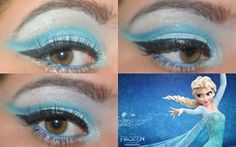 Disney Frozen Elsa Inspired Makeup