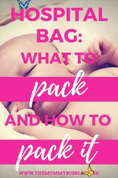 Hospital bag checklist & packing tips - The Mummy Bubble The hospital bag - what to pack and how to pack it // The Mummy Bubble<br> Have you started packing your hospital bag yet? Worried about how you're going to fit everything in, and if you've got everything you need for you and your newborn baby?... Hospital Bag Checklist Uk, Delivery Hospital Bag, Labor Hospital Bag, Packing Hospital Bag, Hospital Bag For Mom To Be, Hospital Bag Essentials, Newborn Essentials, Pregnancy Information, Pregnancy Advice