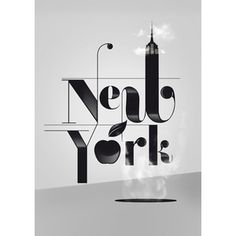 new york typography - Google Search