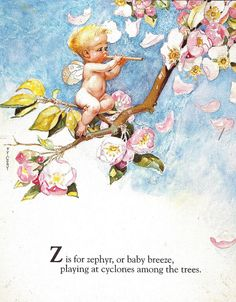 """""""Z is for Zephyr"""" - Fanny Y. Cory"""