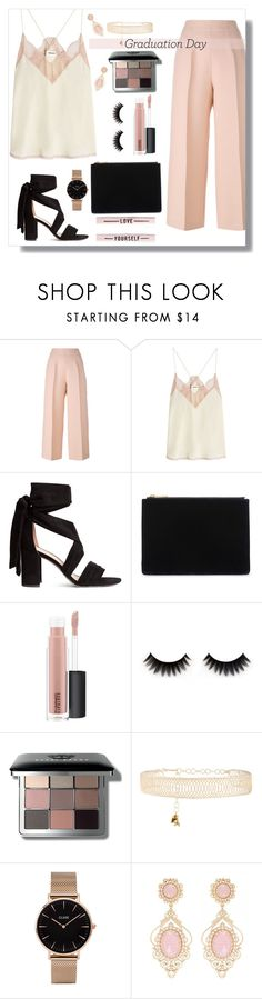 """graduation day 01"" by itgirlcarlota ❤ liked on Polyvore featuring Fendi, Zadig & Voltaire, Whistles, MAC Cosmetics, Bobbi Brown Cosmetics, Rosantica and CLUSE"