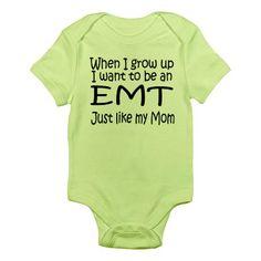 WIGU EMT Mom Infant Bodysuit