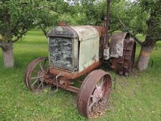 Old tractor in Keremeos BC