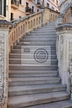 Fototapeta Stare schody