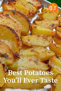 """The best potatoes you will ever try """"This is a wonderful . - The best potatoes you will ever try """"This is a wonderful change from simple potatoes … # - Side Dish Recipes, Vegetable Recipes, Vegetarian Recipes, Dinner Recipes, Cooking Recipes, Healthy Recipes, Cooking Fish, Cooking Herbs, Cooking Cake"""