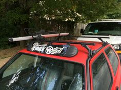 golf mk3 roof rack skateboard - Google Search