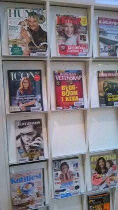 Lisää lehtiä.