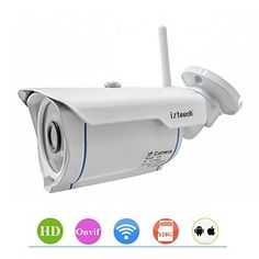Special Offers - iZtouch IZSP-007 Outdoor Security Home Office Warehouse 1280x720P HD H.264 Wireless/Wired IP Camera with IR-Cut Filter Night Vision QR Code Scan Phone Apps Remote Monitoring ONVIF Supported - In stock & Free Shipping. You can save more money! Check It (July 12 2016 at 12:05AM)…