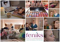 Kurs wizażu. Makijaż fantazyjny   Atelier Wizerunku Feniks Style Make Up, Chocolate, Frame, Color, Style, Atelier, Picture Frame, Swag, Colour
