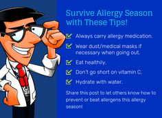 Survive Allergy Season with These Tips!