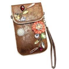 99637d73e230 leather bags women Mobile Phone Bag Clutch Purse crystal Female crossbody  bags for women bao bao  LRYW