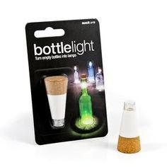 Suck UK Oplaadbare Fleslamp - Bottle Light