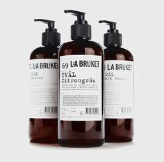 Stefaco Grape for cosmetics brand Lilla Bruket.