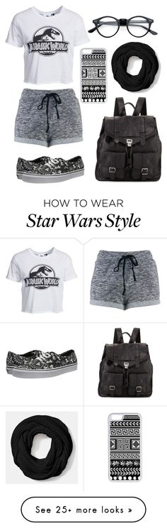 """""""Expressing my feelings for Jurassic World"""" by ladylegolas on Polyvore featuring New Look, Vans, Proenza Schouler, CellPowerCases and Coach"""