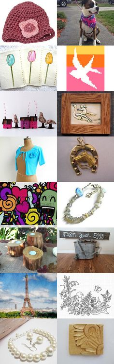 Signs of Spring by JimAndGina on Etsy--Pinned+with+TreasuryPin.com