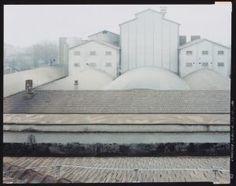 Guido Guidi La fabbrica dalla serie Gardenia Reggio Emilia 1996 Collezione Linea di Confine Rubiera © Guido Guidi