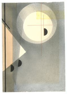 László Moholy-Nagy. Abstrakte Komposition. ca. 1925 ● László Moholy-Nagy was a Hungarian painter and photographer as well as professor in the Bauhaus school. He was highly influenced by constructivism and a strong advocate of the integration of technology and industry into the arts.