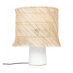 Lámpara de mesa Rattan
