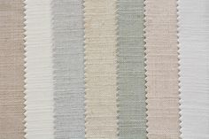 One of our many collections of fabric options for roman shades #romanshades