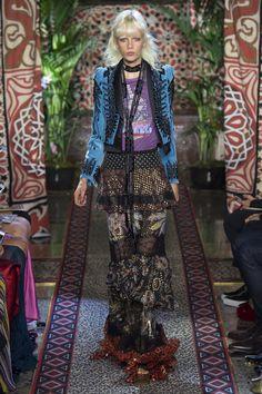 Roberto Cavalli Spring 2017 Ready-to-Wear Fashion Show - Marjan Jonkman